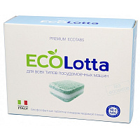 LOTTA Таблетки для ПММ ECO All in 1 30 шт + очистка1 шт